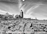 Bornholm black & white (Wandkalender 2019 DIN A3 quer) - Produktdetailbild 2