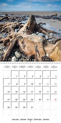 Borth - 2019 (Wall Calendar 2019 300 × 300 mm Square) - Produktdetailbild 1