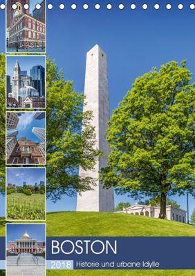 BOSTON Historie und urbane Idylle (Tischkalender 2018 DIN A5 hoch), Melanie Viola