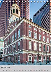 BOSTON Historie und urbane Idylle (Tischkalender 2018 DIN A5 hoch) - Produktdetailbild 1