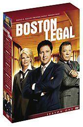 Boston Legal - Season 1, David E. Kelley, Janet Leahy, Michael Reisz, Andrew Kreisberg, Phoef Sutton, Lawrence Broch, Sanford Golden, Karen Wyscarver, Jonathan Shapiro