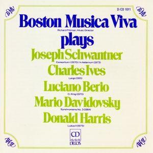 Boston Musica Viva Plays, Pittman, Boston Musica Viva
