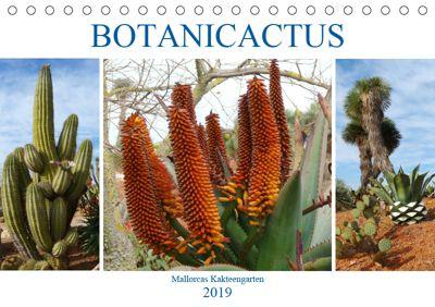 BOTANICACTUS Mallorcas Kakteengarten (Tischkalender 2019 DIN A5 quer), Gisela Kruse