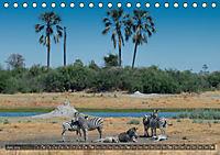 Botswana - Landschaft und Tierwelt (Tischkalender 2019 DIN A5 quer) - Produktdetailbild 6