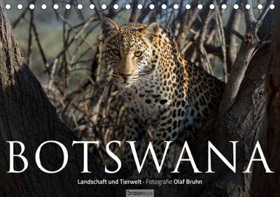 Botswana - Landschaft und Tierwelt (Tischkalender 2019 DIN A5 quer), Olaf Bruhn
