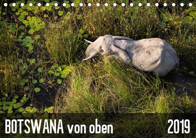 Botswana von oben (Tischkalender 2019 DIN A5 quer), krueger-photography