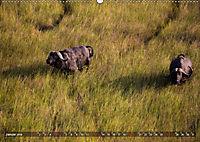 Botswana von oben (Wandkalender 2019 DIN A2 quer) - Produktdetailbild 1