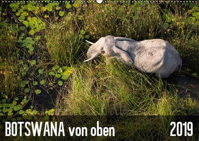 Botswana von oben (Wandkalender 2019 DIN A2 quer), krueger-photography