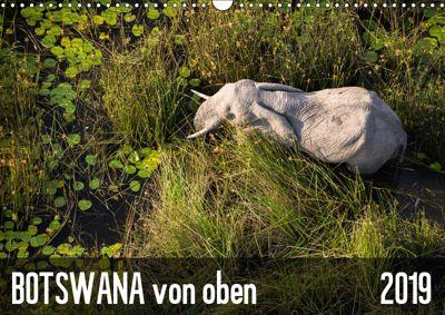 Botswana von oben (Wandkalender 2019 DIN A3 quer), krueger-photography
