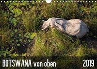Botswana von oben (Wandkalender 2019 DIN A4 quer), k.A. krueger-photography