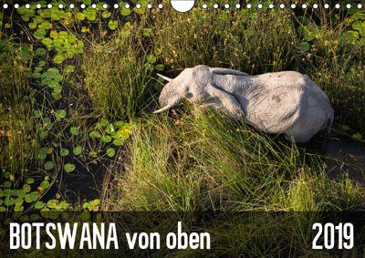 Botswana von oben (Wandkalender 2019 DIN A4 quer), Krueger-photography