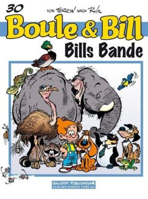 Boule & Bill - Bills Bande, Jean Roba