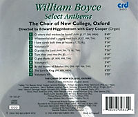 Boyce:Select Anthems - Produktdetailbild 1