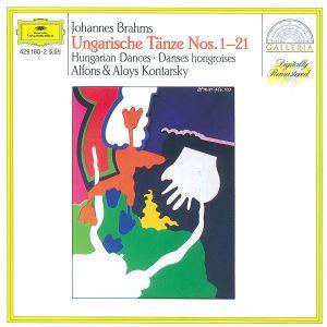 Brahms: 21 Hungarian Dances, Alfons Und Aloys Kontarsky