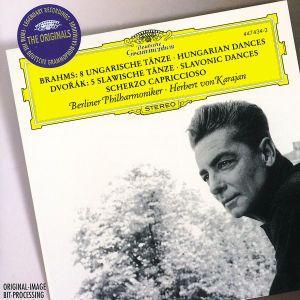 Brahms: 8 Hungarian Dances / Dvorák: 5 Slavonic Dances, Scherzo capriccioso, Herbert von Karajan, Bp