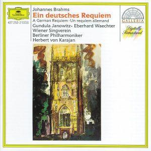Brahms: Ein Deutsches Requiem, Janowitz, Wächter, Karajan, Bp