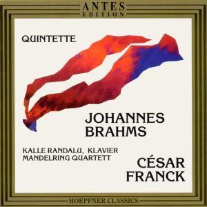 Brahms/franck Klavierquinte, Kalle Randalu, Mandelring Quartett