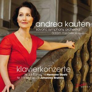 Brahms: Klavierkonzert 1 & Goetz: Piano Concer, Andrea Kauten