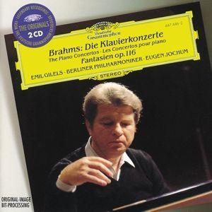 Brahms: Piano Concerto No.1 in D minor op.15, Emils Gilels, Eugen Jochum, Bp