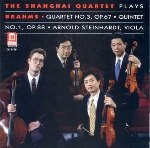 Brahms:Quartet 3,Op.67, Shanghai Quartet, Steinhardt