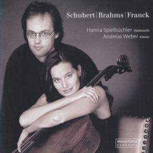 Brahms-Schubert-Franck, Hanna Spielbüchler, Andreas Weber