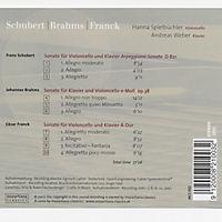 Brahms-Schubert-Franck - Produktdetailbild 1