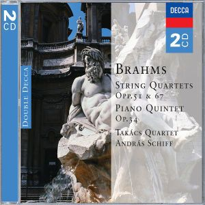 Brahms: String Quartets & Piano Quintet, Andras Schiff, Takács Quartet