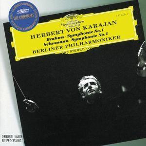 Brahms: Symphony No.1 / Schumann: Symphony No.1, Herbert von Karajan, Bp