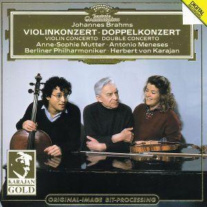 Brahms: Violin Concerto, Double Concerto, Mutter, Meneses, Karajan, Bp