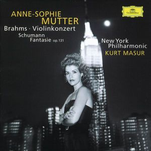 Brahms: Violin Concerto In D Major, Op. 77 / Schumann: Fantasy For Violin And Orchestra In C Major, Op. 131, Anne-Sophie Mutter, Masur, Nypo