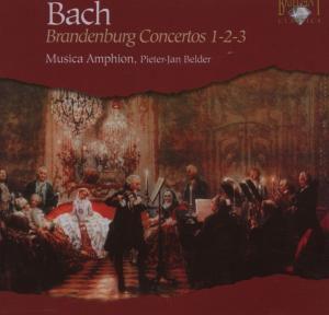 Brandenburg Concertos Nr. 1 - 3, Musica Amphion