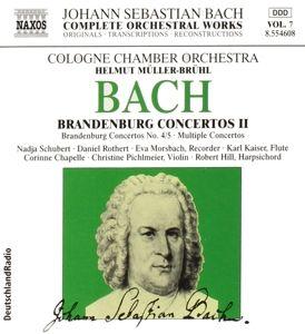 Brandenburg.Konzerte Ii, Johann Sebastian Bach