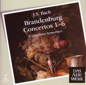Brandenburgische Konzerte 1-6, Il Giardino Armonico, Antonini