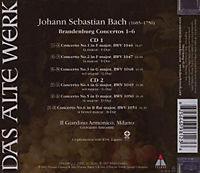 Brandenburgische Konzerte 1-6 - Produktdetailbild 1
