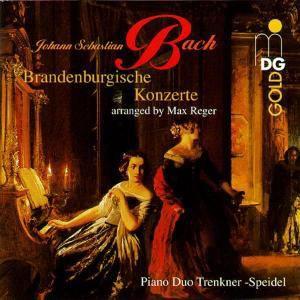 Brandenburgische Konzerte (für Klavierduo), Evelinde Trenkner, Sontraud Speidel
