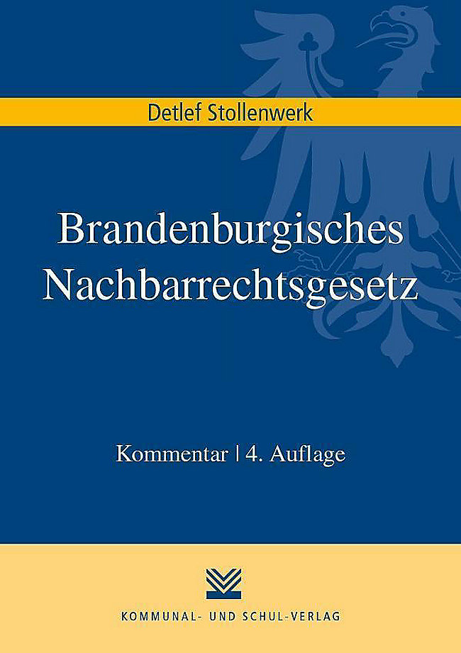 Brandenburgisches Nachbarrechtsgesetz Buch Portofrei Weltbild De