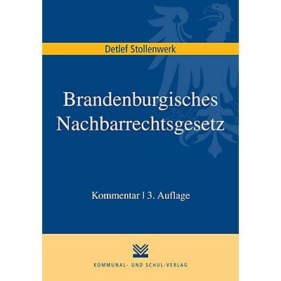 Brandenburgisches Nachbarrechtsgesetz Bbgnrg Kommentar Buch