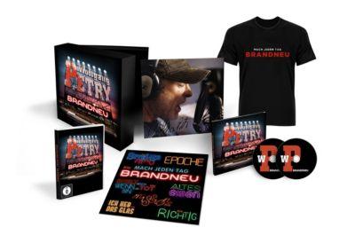 Brandneu (Limitierte Fan-Box, 2 CDs+DVD), Wolfgang Petry