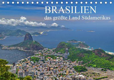 Brasilien - das größte Land Südamerikas (Tischkalender 2019 DIN A5 quer), FRYC JANUSZ