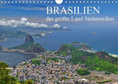 Brasilien - das grösste Land Südamerikas (Wandkalender 2019 DIN A4 quer), FRYC JANUSZ
