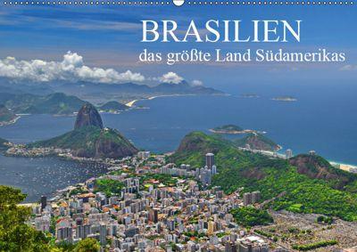Brasilien - das grösste Land Südamerikas (Wandkalender 2019 DIN A2 quer), FRYC JANUSZ