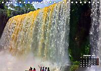 Brasilien. Der Iguazú-Nationalpark (Tischkalender 2019 DIN A5 quer) - Produktdetailbild 1