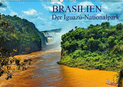 Brasilien. Der Iguazú-Nationalpark (Wandkalender 2019 DIN A2 quer), FRYC JANUSZ