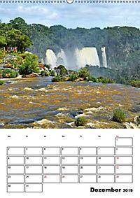 BRASILIEN UND ARGENTINIEN. Die Wasserfälle von Iguazú (Wandkalender 2019 DIN A2 hoch) - Produktdetailbild 8