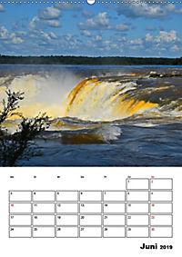 BRASILIEN UND ARGENTINIEN. Die Wasserfälle von Iguazú (Wandkalender 2019 DIN A2 hoch) - Produktdetailbild 3