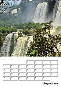BRASILIEN UND ARGENTINIEN. Die Wasserfälle von Iguazú (Wandkalender 2019 DIN A2 hoch) - Produktdetailbild 12