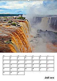 BRASILIEN UND ARGENTINIEN. Die Wasserfälle von Iguazú (Wandkalender 2019 DIN A2 hoch) - Produktdetailbild 13