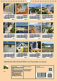 BRASILIEN UND ARGENTINIEN. Die Wasserfälle von Iguazú (Wandkalender 2019 DIN A4 hoch) - Produktdetailbild 4