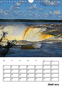 BRASILIEN UND ARGENTINIEN. Die Wasserfälle von Iguazú (Wandkalender 2019 DIN A4 hoch) - Produktdetailbild 2