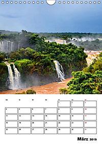 BRASILIEN UND ARGENTINIEN. Die Wasserfälle von Iguazú (Wandkalender 2019 DIN A4 hoch) - Produktdetailbild 6